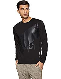 276b8a3c5 Calvin Klein Performance Star Print 100% Cotton Regular Fit Pullover  Sweatshirt