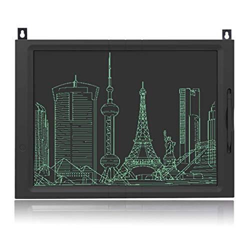 NOUDOO Tablette d'écriture LCD, 20 Pouces numérique Ewriter Tablette Graphique Convient pour l'école à Domicile Bloc-Notes de Bureau