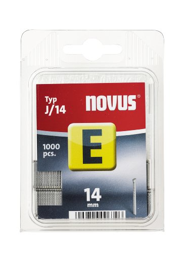 Novus 044-0073 Blister de 1000 Clous J/14 mm Rouge