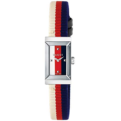 Gucci G-Frame Reloj de Mujer Cuarzo Correa de Nylon Caja de Acero YA147508