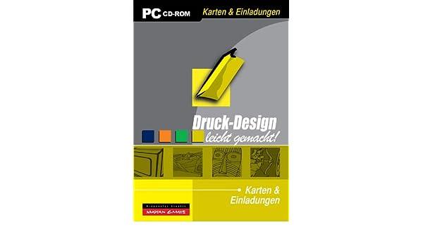 Einladungen Designen | Druck Design Karten Einladungen Amazon De Software