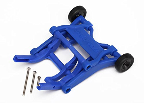 Traxxas 3678X Blue Wheelie Bar, Assembled (Fits Slash, Stampede, Rustler, Bandit Series)