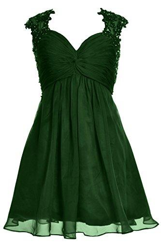 MACloth - Robe - Femme Verde Oscuro