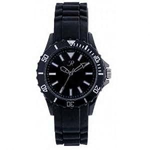 reflex sr001 schwarze silikon uhr armbanduhr unisex. Black Bedroom Furniture Sets. Home Design Ideas