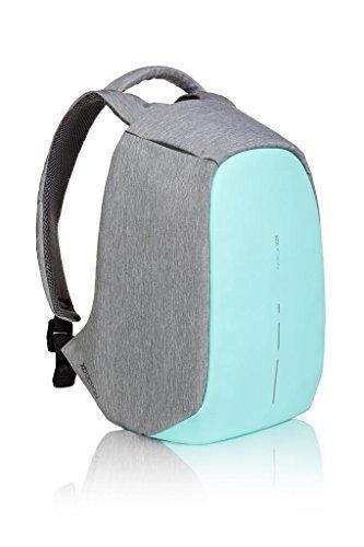 XD Design The Original Genuine Bobby Compact antifurto Zaino Anti Theft Backpack,Mint Green
