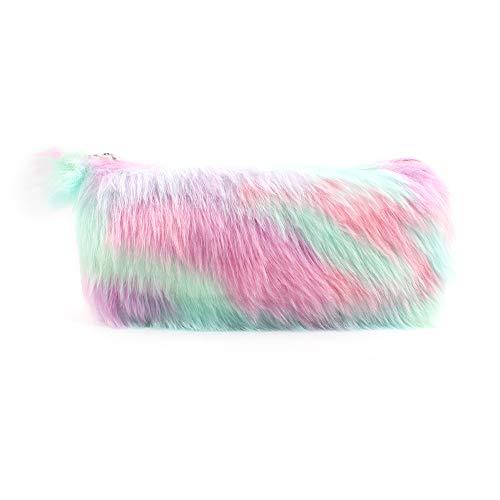 Estuche para lápices de unicornio para niños, bolsa de almacenamiento con diseño de unicornio, color 1Pcs,Pink