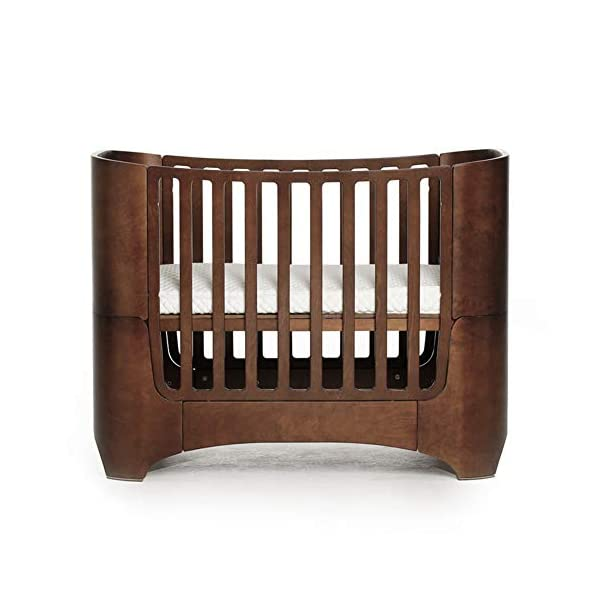 KLI Multi-Function Newborn Infant Crib Solid Harmless Harmless Paint Wood Baby Cradle Rocking Bed,120 * 68 * 94Cm,Brown KLI 1.Shipping list: crib,mat 2.Size:120*68*94cm 3. 2 grade height adjustment: grade 1 (55cm from the floor)can be used for baby in 0-6 month, convenient to take out baby; grade 2 (22cm from the floor) for baby in up to 4 years old and can stand independently 1