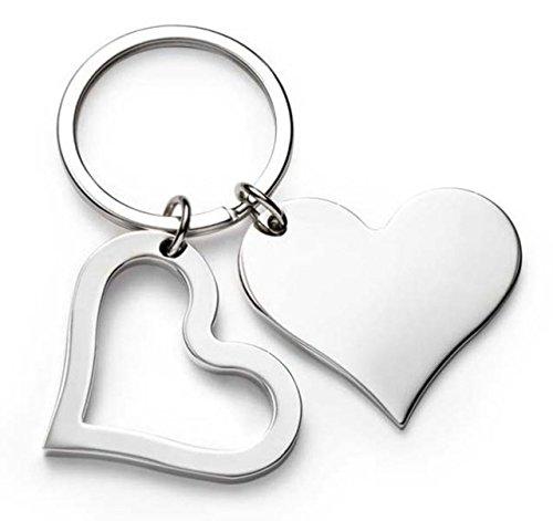 Ten portachiavi cuore cod.el7602 cm 7x4x0,5h by varotto & co.