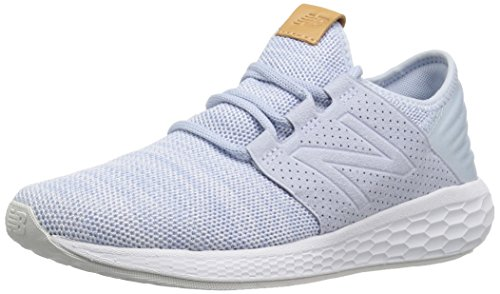 New Balance Damen Fresh Foam Cruz v2 Knit Sneaker, Blau (Ice Blue/White Ki2), 40.5 EU