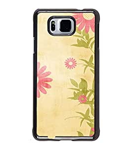 iFasho Animated Pattern colrful traditional design cloth pattern Back Case Cover for Samsung Galaxy Alpha
