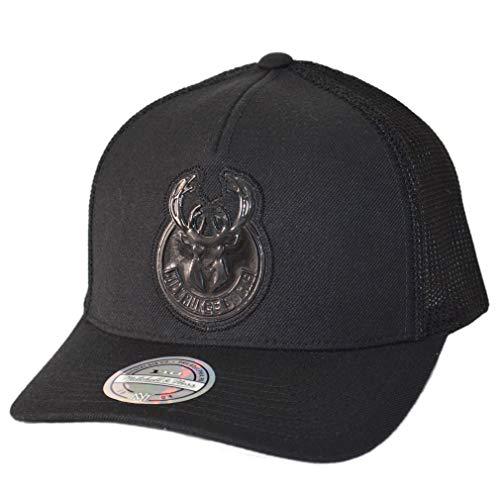 Preisvergleich Produktbild Mitchell & Ness NBA Milwaukee Bucks Zig Zag Trucker Cap