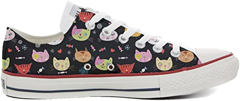 Converse All Star Zapatos Personalizados (Producto Artesano) My Little Kitten  -