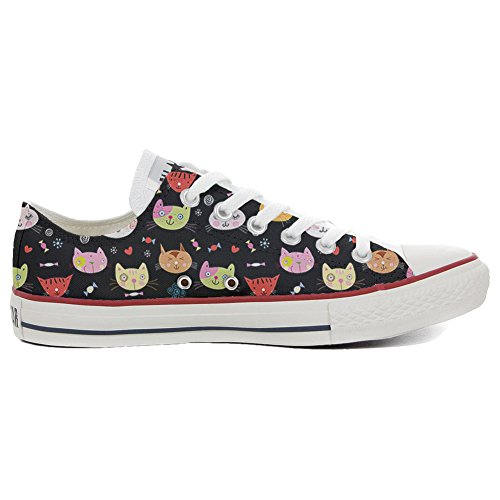 Converse All Star Slim Chaussures Coutume Mixte Adulte (Produit Artisanal) My Little Kitten