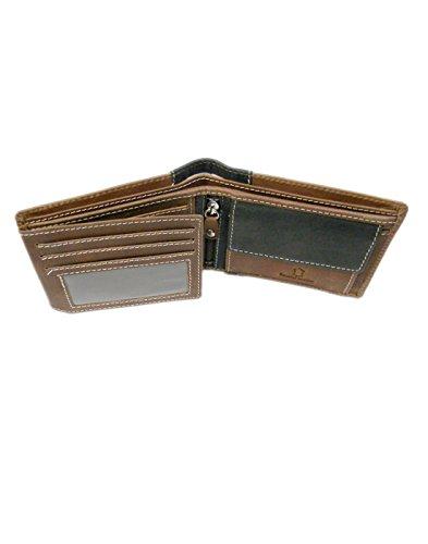 Ssmitn Men's Brown Leather Wallet