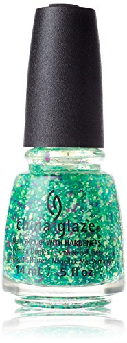 China Glaze Nail Lacquer with Hardner - Collection 2015 Electric Nights - Can I Get An Untz, 1er Pack (1 x 14 ml)