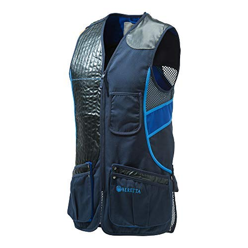 Beretta Sporting Vest Skeet Blue Total Eclipse Shooting Clays Trap GT691-0504 Sporting Clays Shooting Vest