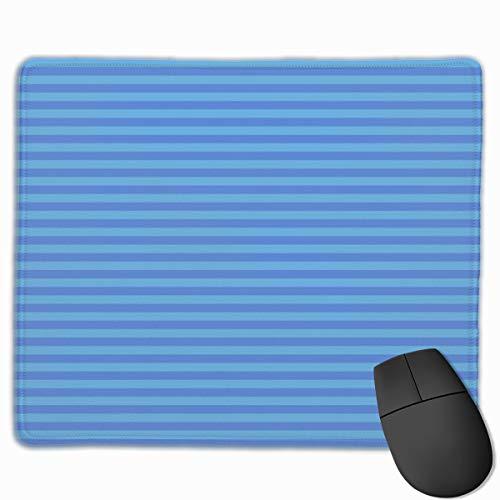 2-Blue Stripes_88993 Mouse pad Custom Gaming Mousepad Nonslip Rubber Backing 9.8
