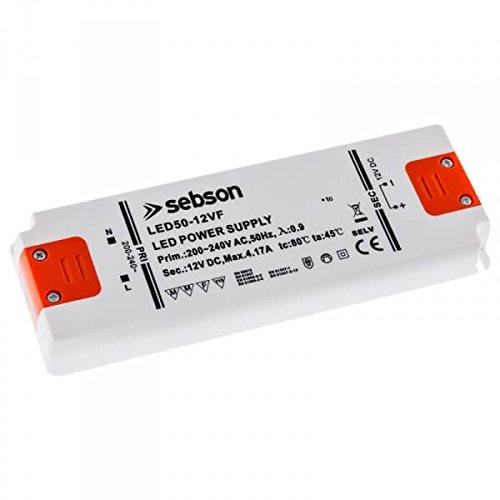 SEBSON 50W LED Treiber / LED Trafo -