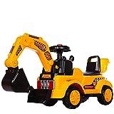 Ayy Children ' s Toy Auto Escavatore Grande Escavatore può sedersi può Cavalcare Escavatore Elettrico 2-5 Anni Giocattolo Maschio del Bambino