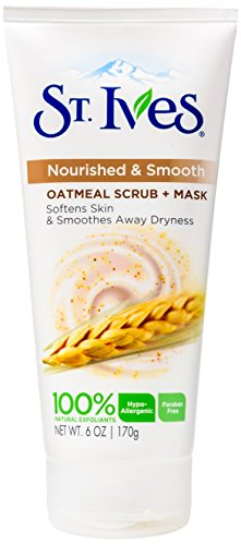 st-ives-oatmeal-scrub-mask-smooth-nourished-oatmeal-6-ounce