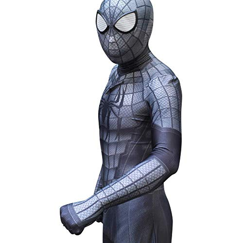 LCRBT Spiderman 3D Kostüm Spiel Cosplay Strumpfhosen Halloween Kostüm Overall Für Erwachsene/Kinder Body,Siamese-Adult/XXL (Erwachsene Größe Spiderman Kostüme)