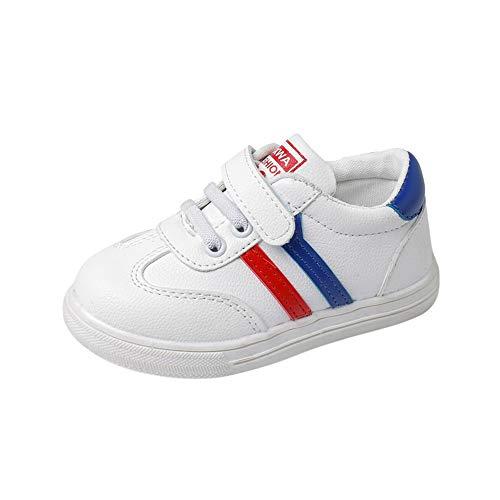 Beikoard Unisex Sneaker Babyschuhe Jungen Mädchen Freizeitschuhe Leder Laufsportschuhe Rutschfeste Schuhe mit weichem Boden