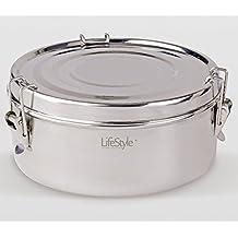Life Style - LunchBox 2 Piatti - Acciaio Inox -