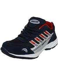 Arexon Men's Synthetic Blue Colored Sport Shoe( Men's Running Shoe, Breathable Sports Shoe, High Grip Sports Shoe... - B074Q2NKJD