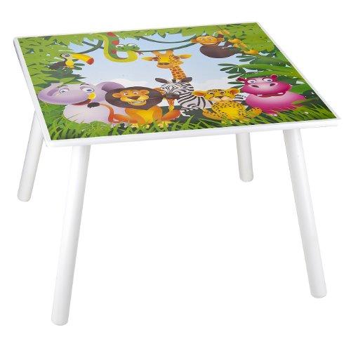 Set da cameretta per bambini tavolo e 2 sedie in legno for Disegnare cameretta online