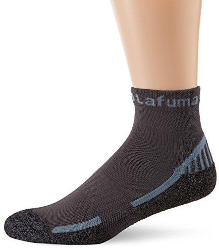 Lafuma - Laftrack - Low Chaussettes basses de randonnée - Mixte Adulte - Noir - FR: 39-42 (Taille Fabricant: 39-42)