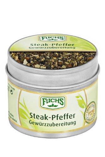 Fuchs Steak Pfeffer, 3er Pack (3 x 65 g)