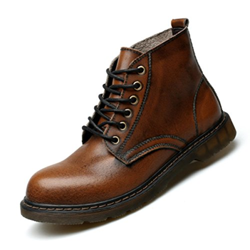 LINYI Outillage Martin Outillage Pour Hommes Mode Casual Business Chaussures D'escalade De Sport En Plein Air Brown