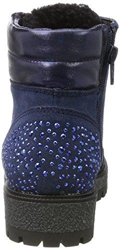 Marco Tozzi Premio Damen 26273 Stiefel Blau (Navy Comb)