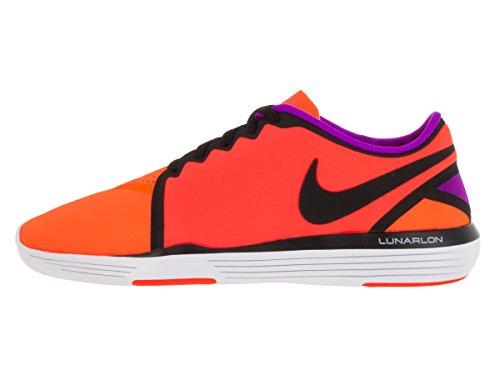 Nike  Wmns Lunar Sculpt, Sneakers femme Orange - Naranja (Ttl Crmsn / Blk-Ttl Orng-Hypr Vl)