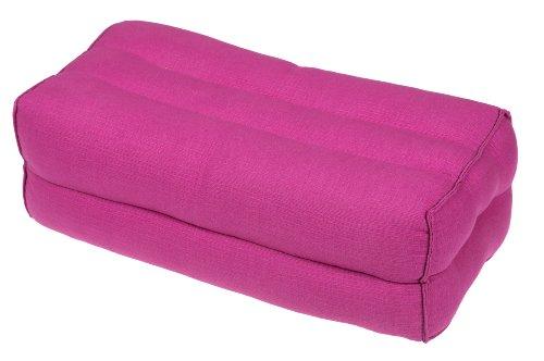 Kissen Block 35x15x10 Naturbaumwolle pink. Perfekt für...