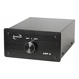 Dynavox AMP-S Verstärker/Boxen-Umschalter schwarz