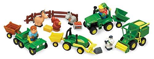 John Deere Preschool 34984 Fahrzeug Spielset, Aktivitätspielzeug