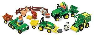 John Deere Preschool 34984-Diversión en la Granja, Juego Set