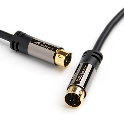 KabelDirekt - PS/2 Kabel - 3m - (mDIN6 Stecker- mDIN6 Stecker) - PRO Series - Ps/2-serie