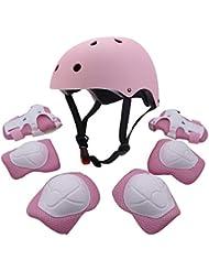 7 Child Bicycle Cycle Bike Scooter Skateboard Skate Helmet Knee Wrist Elbow Pad