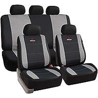 Sitzbezüge Sitzbezug Schonbezüge für Nissan X Trail Grau Modern MG-2 Komplettset