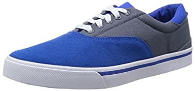 adidas , Basses homme, - Blue / Lead / White, 44.666666666666664
