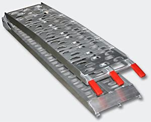 Aluminium Folding Loading Ramp ATV Quad 340 kg 750 lbs 220x28cm