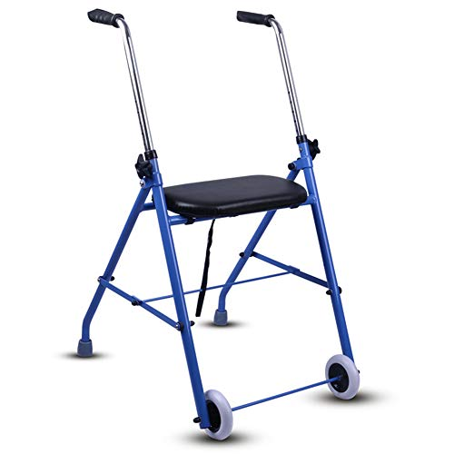 Aluminium-leinwand (SXFYMWY Walking Frame Leichtgewicht Aluminium-Leinwands-Multifunkwalker geeignet zur Unterstützung älterer Menschen mit Behinderungen)