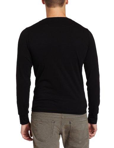 "DIESEL langarm T-shirt (Longsleeve) ""T-ALDEBARANO-S"" schwarz Schwarz"