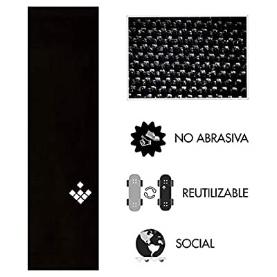 "3 CreamGrip pack: non abrasive grip tape for skateboarding. 9"" 33""."