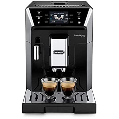 DeLonghi-ECAM-55055-SB-freistehend-vollautomatisch-Maschine-in-Kaffee-Kapseln-2L-Edelstahl-Espressokocher-freistehend-Maschine-in-Kaffee-Kapseln-Edelstahl-2-l-Kaffeemhle-1450-W