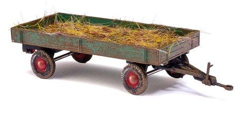 Busch 44974 - Landwirtschaftlicher Anhänger mit Mist