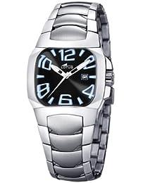 b74343f0c748 Lotus Code - Reloj analógico de mujer de cuarzo con correa de acero  inoxidable plateada -