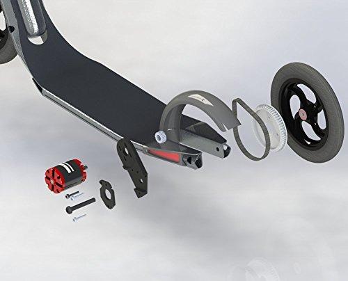 Incluso hechas Town 9Scooter Electric Drive Kit DIY Patinete con accionamiento correa la mayoría Light Electric Patinete accionamiento vorrichtung Town 9EF